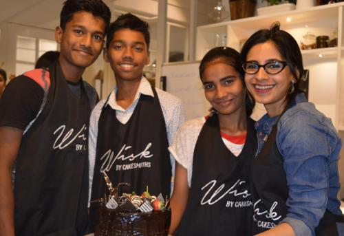 MENTOR FOR A DAY- BAKING AT WISK BY CAKESMITHS